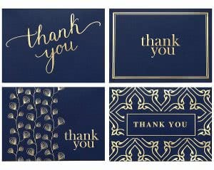 Spark Ink thank you card