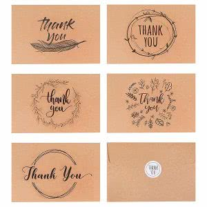 VNS Creations thank you card