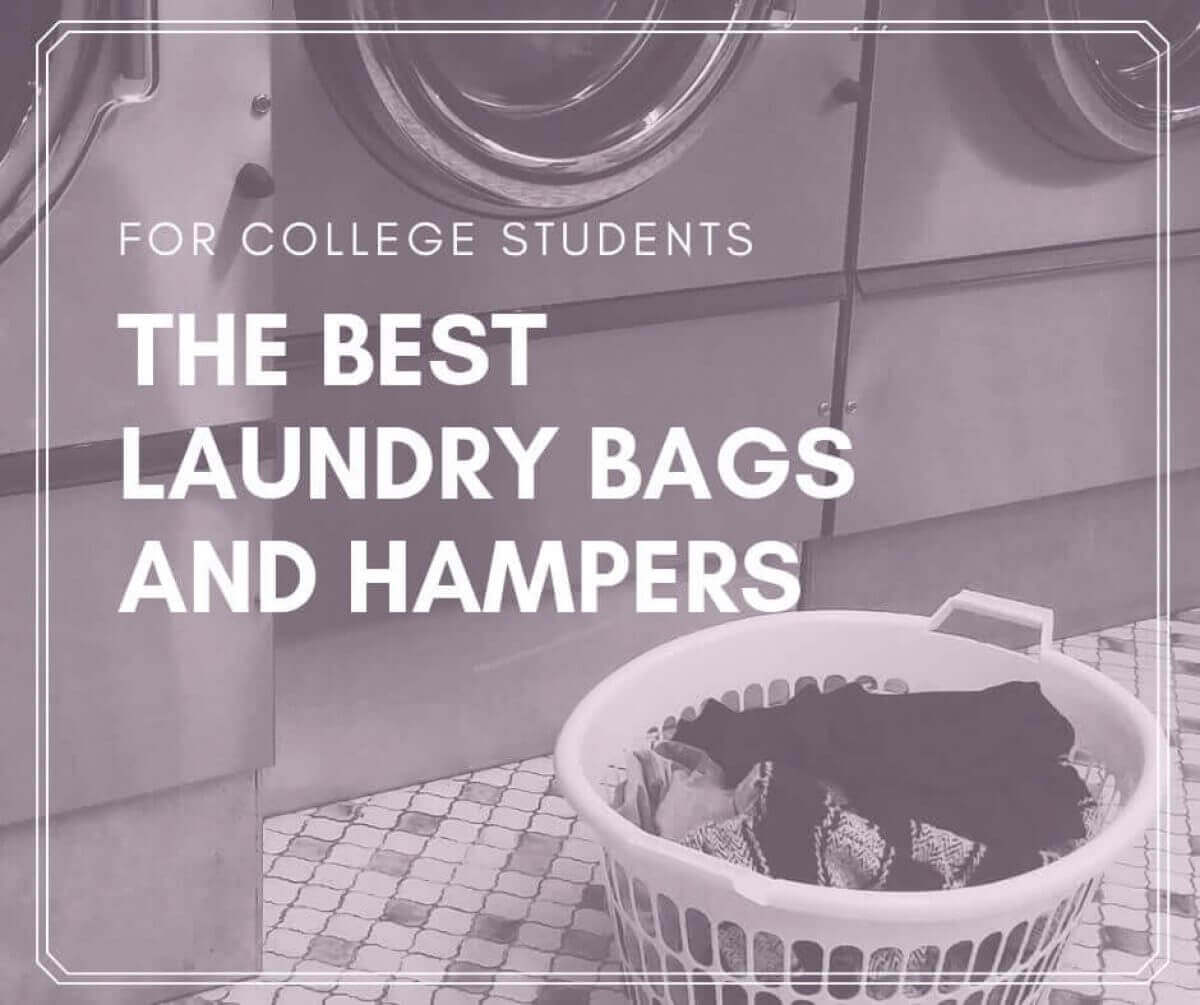 Laundry Bags For Your College Dorm