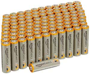 things you need for college AmazonBasics AA batteries