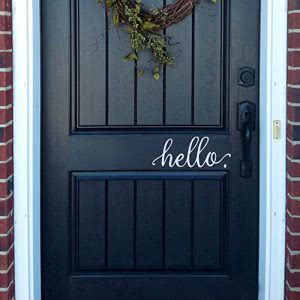 BATTOO hello wall decal