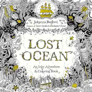 Lost Ocean adult coloring books