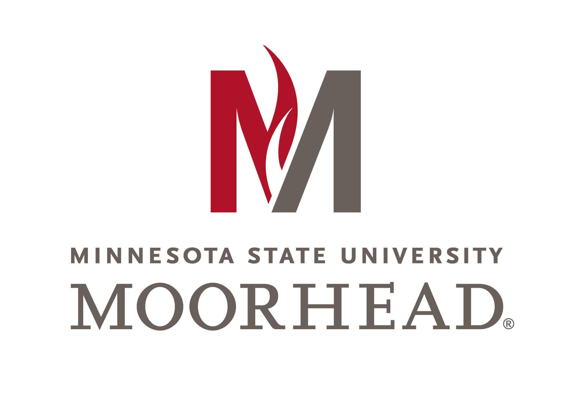 Minnesota State University Moorhead logo.