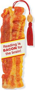 Peter Pauper Press bacon bookmarks