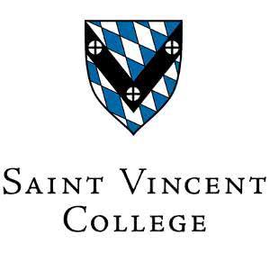 Saint Vincent College logo.