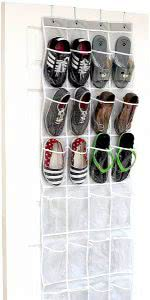 SimpleHouseware over the door organizer
