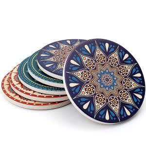 Teocera stone coasters