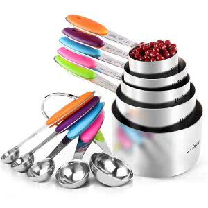 U-Taste measuring cups and spoons