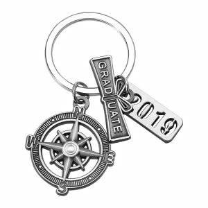 Unamor graduation keychain
