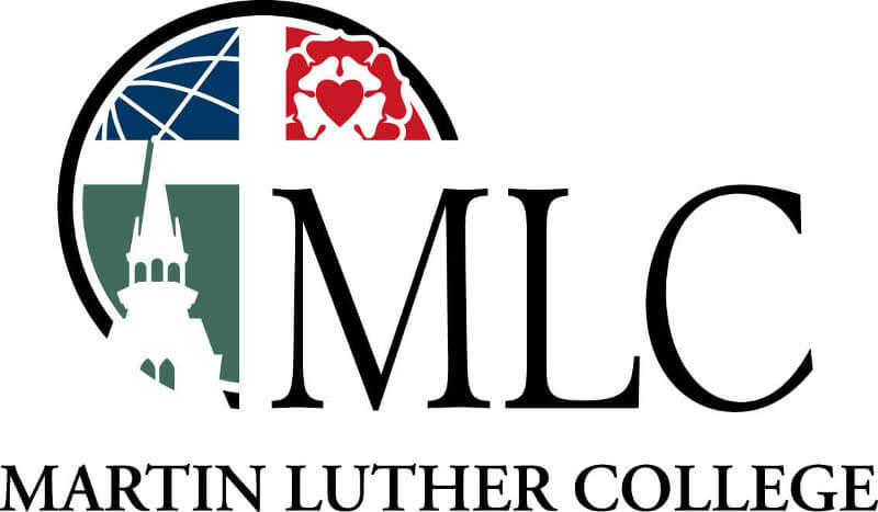 Martin Luther College logo.