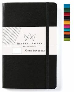 Minimalism Art plain notebook