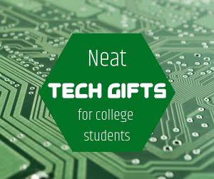Motherboard with text: neat tech gifts for college students