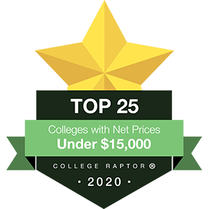 Top 25 colleges under $15k