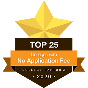 Top 25 colleges without application fees