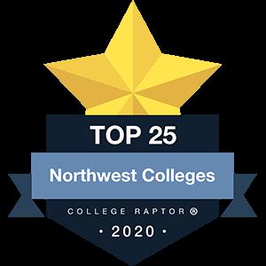 Best Northwest Colleges Badge