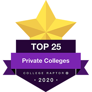 Best Private Colleges Badge