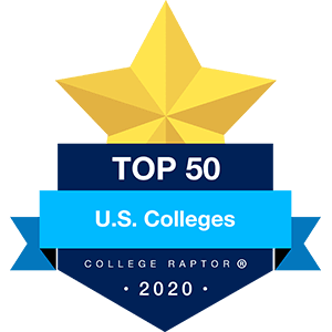 Best US Colleges Badge