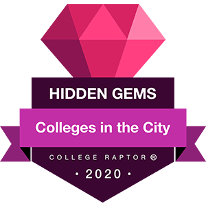 Hidden gems - colleges in cities