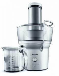 Compact juicer by Breville. Image linked to its Amazon page.