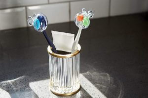Two Steripod clip-on toothbrush protectors. Click to visit its Amazon page.