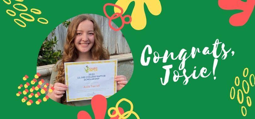 Scholarship Winner Josie Tarrell
