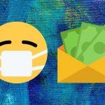 Coronavirus and student loans icons.