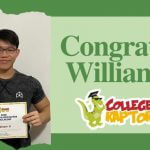 $2500 Scholarship winner William Li